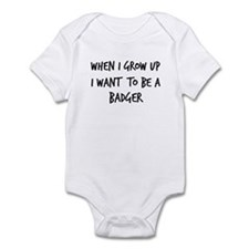 Grow up - Badger Onesie