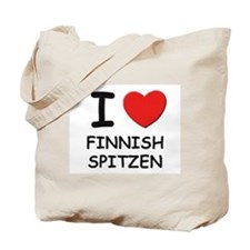 I love FINNISH SPITZEN Tote Bag