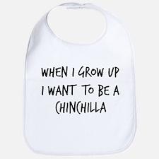 Grow up - Chinchilla Bib