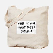Grow up - Chinchilla Tote Bag