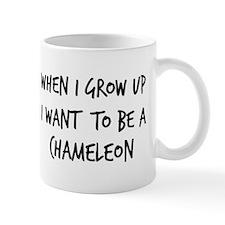 Grow up - Chameleon Mug