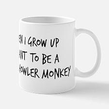 Grow up - Black Howler Monkey Mug