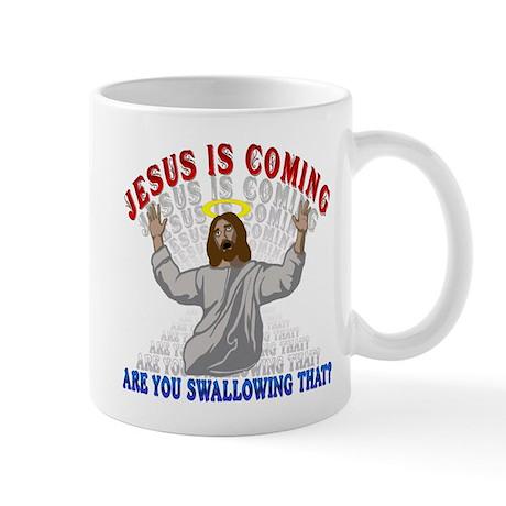 Jesus Is Coming Small 11oz Mug