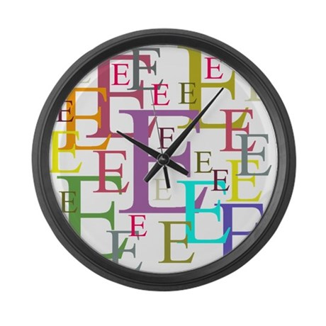Epsilon Large Wall Clock