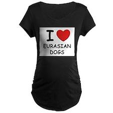 I love EURASIAN DOGS T-Shirt