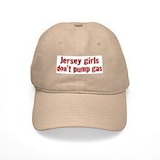 Jersey Girls Don't Pump Gas (new) Baseball Baseball Cap