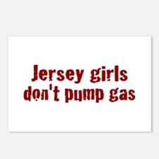Jersey Girls Don't Pump Gas (new) Postcards (Packa