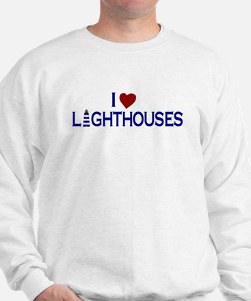 I Love Lighthouses (new) Sweater