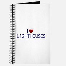 I Love Lighthouses (new) Journal