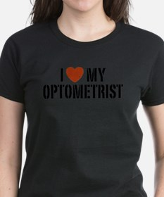 I Love My Optometrist Tee