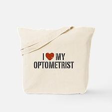 I Love My Optometrist Tote Bag