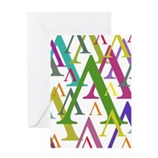 Lambda Greeting Card