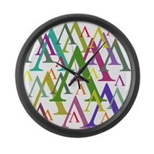 Lambda Large Wall Clock