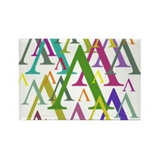 Lambda Rectangle Magnet