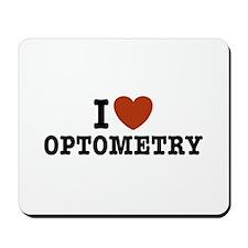 I Love Optometry Mousepad