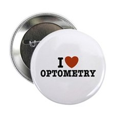 """I Love Optometry 2.25"""" Button"""
