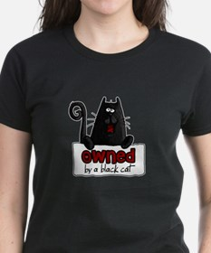 owned by a black cat Tee