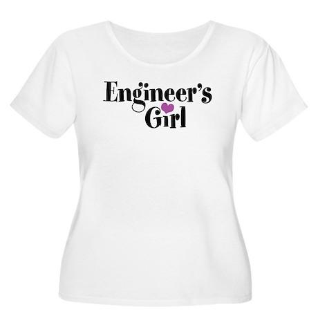 Engineer's Girl Women's Plus Size Scoop Neck T-Shi