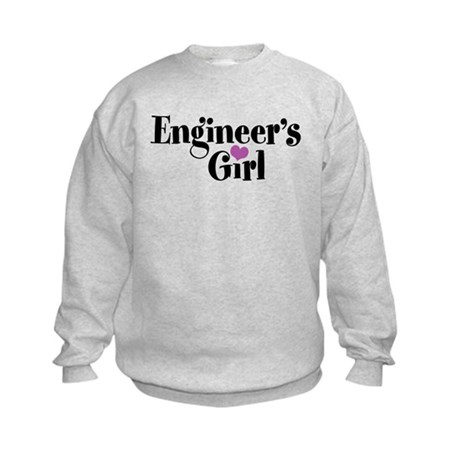 Engineer's Girl Kids Sweatshirt