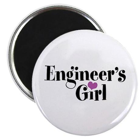 Engineer's Girl Magnet