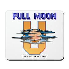 Full Moon U Mousepad