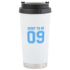 Aunt To Be 09 (Blue) Travel Mug