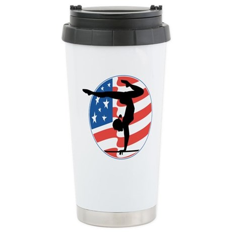 U.S.A Gymnastics Stainless Steel Travel Mug