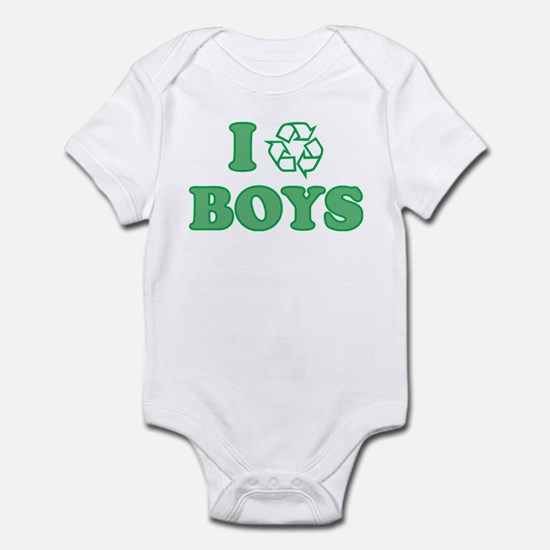 I Recycle Boys Infant Bodysuit