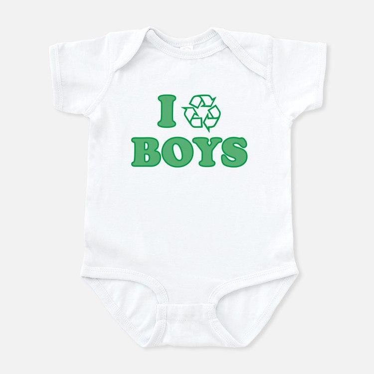I Recycle Boys Onesie