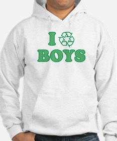 I Recycle Boys Hoodie
