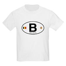 Belgium Euro Oval T-Shirt