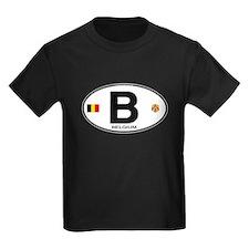 Belgium Euro Oval T