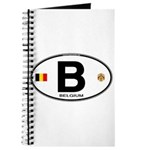 Belgium Euro Oval Journal