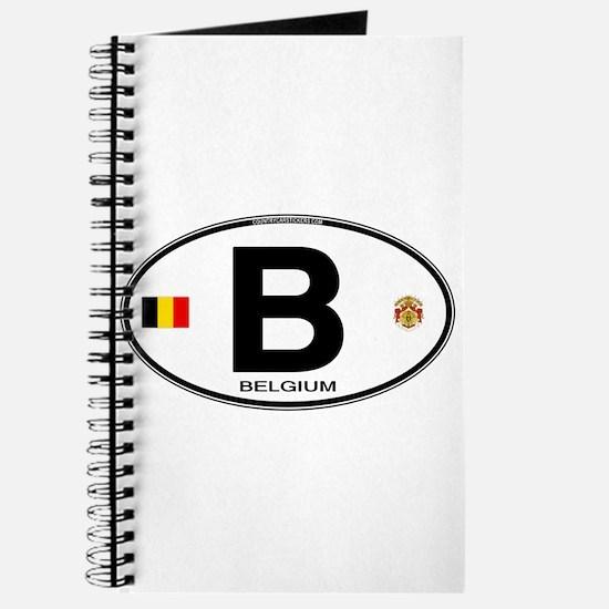 Belgium Euro Oval Journal