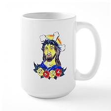 Jesus Tattoo Art Mug