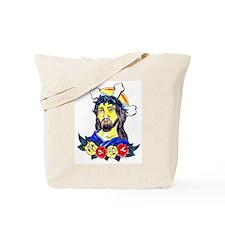 Jesus Tattoo Art Tote Bag