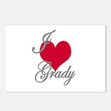 I love (heart) Grady Postcards (Package of 8)