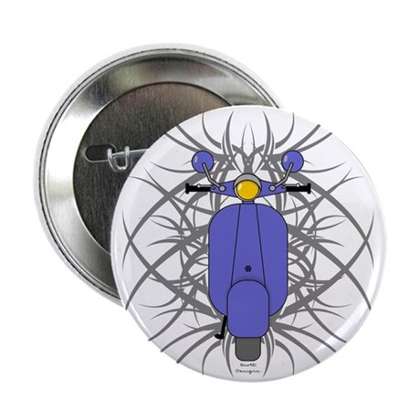 "Tribal Scooter 2.25"" Button (100 pack)"