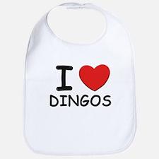 I love DINGOS Bib