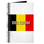 Belgium Flag with Label Journal