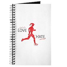Women's Love Hate Running Journal