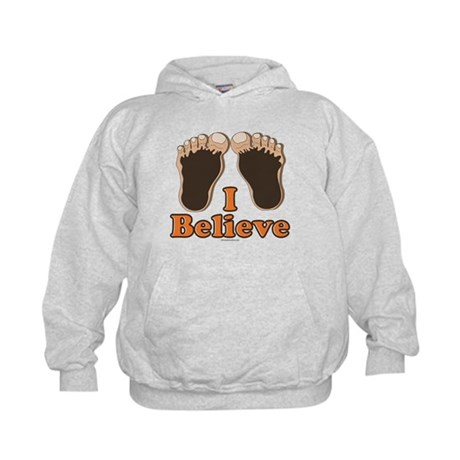 I Believe Bigfoot Kids Hoodie