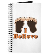 I Believe Bigfoot Journal
