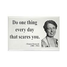 Eleanor Roosevelt 1 Rectangle Magnet (100 pack)