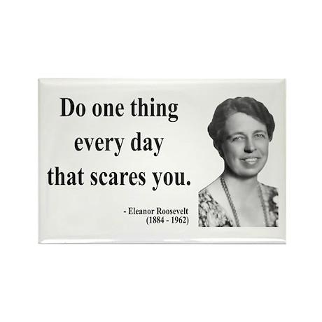 Eleanor Roosevelt 1 Rectangle Magnet (10 pack)