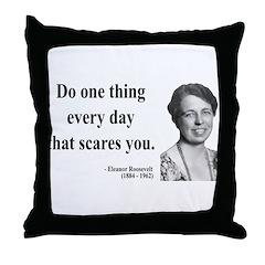 Eleanor Roosevelt 1 Throw Pillow