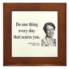 Eleanor Roosevelt 1 Framed Tile