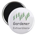 """Gardener Extraordinaire 2.25"""" Magnet (10 pack)"""