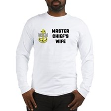 master chiefs wife Long Sleeve T-Shirt