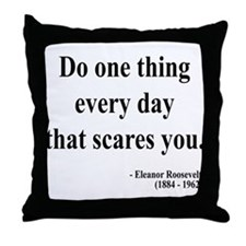 Eleanor Roosevelt 1 Throw Pillow